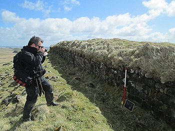 Recording Hadrians Wall, World Heritage Site
